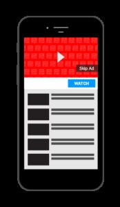 Esempio di un video promosso con una campagna In-Stream